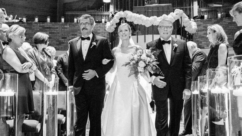 Mom & Dad Divorced…. Who walks the bride down the aisle?