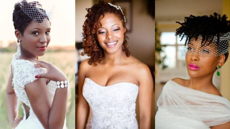 BRIDAL HAIRSTYLES FOR WOMEN OF COLOR
