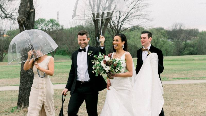 Rainy Weddings – Come to find out they are the BEST!